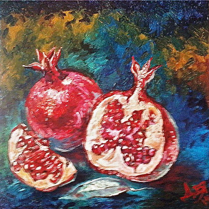 Pomegranates - Deia Simeonova-Art shop