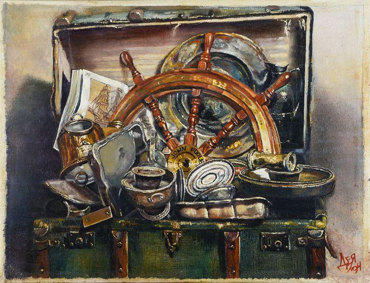 The memories of the sailor - Deia Simeonova-Art shop