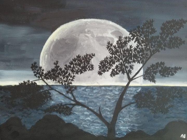 The moon - Agata
