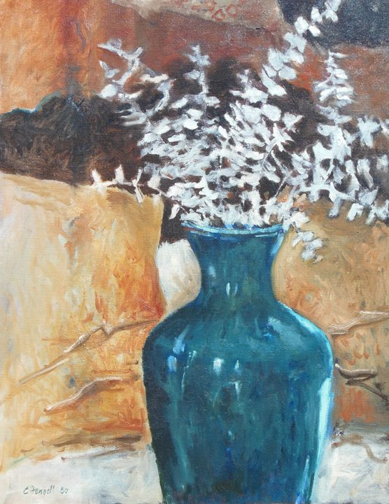 blue vase - Chris Fennell