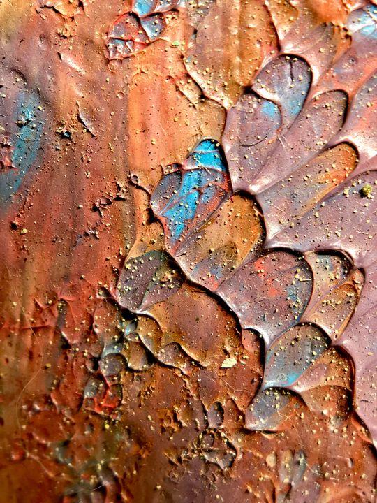 Sahara - Resin Art