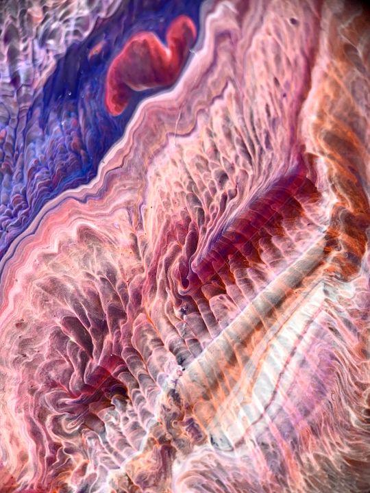 Folded colors - Resin Art
