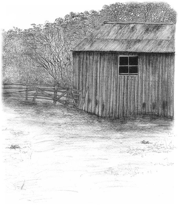 Old farm Shed - Karu Design