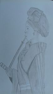 South African traditional woman