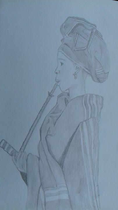 South African traditional woman -  Sinovuyo479