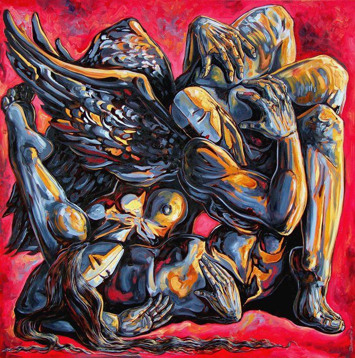 The passion of the fallen - Darwin Leon Fine Art