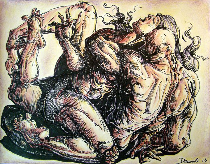 The unconditional Ecstasy - Darwin Leon Fine Art