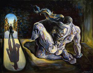 The internal affair - Darwin Leon Fine Art