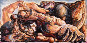Ecstasy maximus - Darwin Leon Fine Art