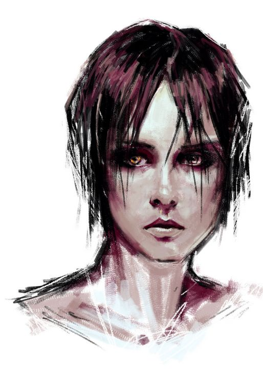 Crow Girl - Isidora's