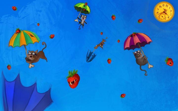 Flying cats - Isidora's