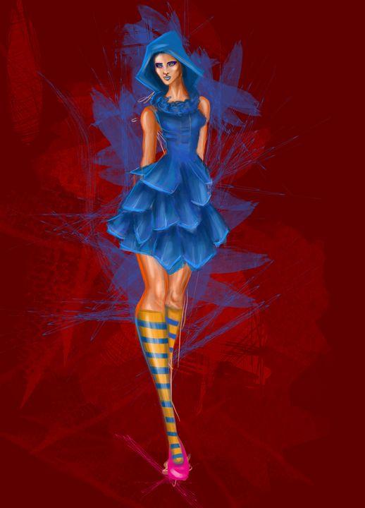Blue Riding Hood - Isidora's