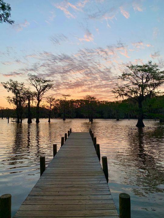 A Serenity Lake - Amy's Art
