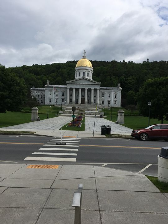 Vermont State House - Amy's Art