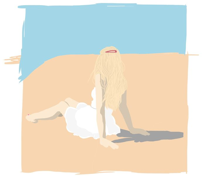 Beach Blonde - J.Rizzle