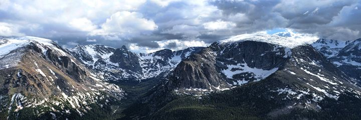 Rocky Mountain Panorama - Ad Astra Images