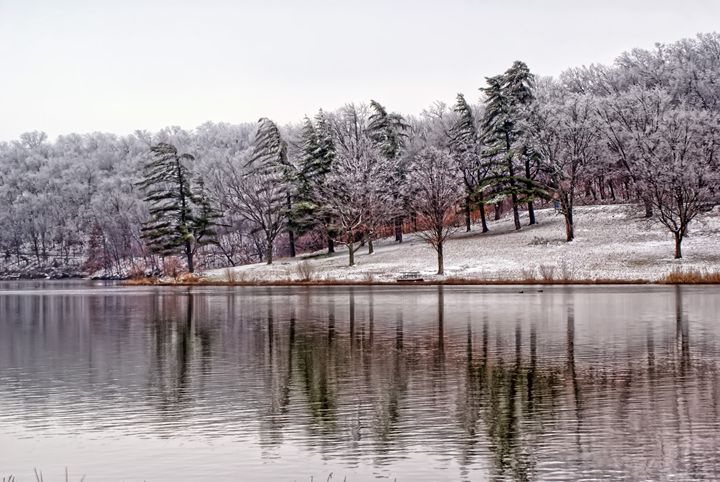 Winter at the Lake - Ad Astra Images