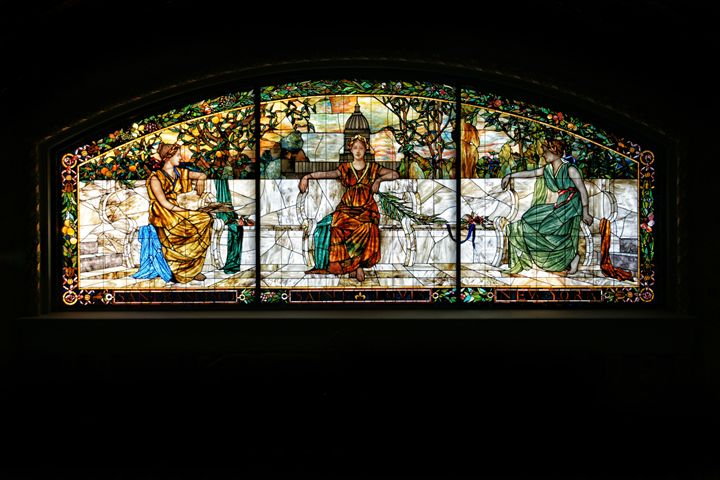 Stained Glass Justice - Ad Astra Images