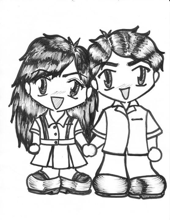 School Sweethearts - LuneDeThalassah