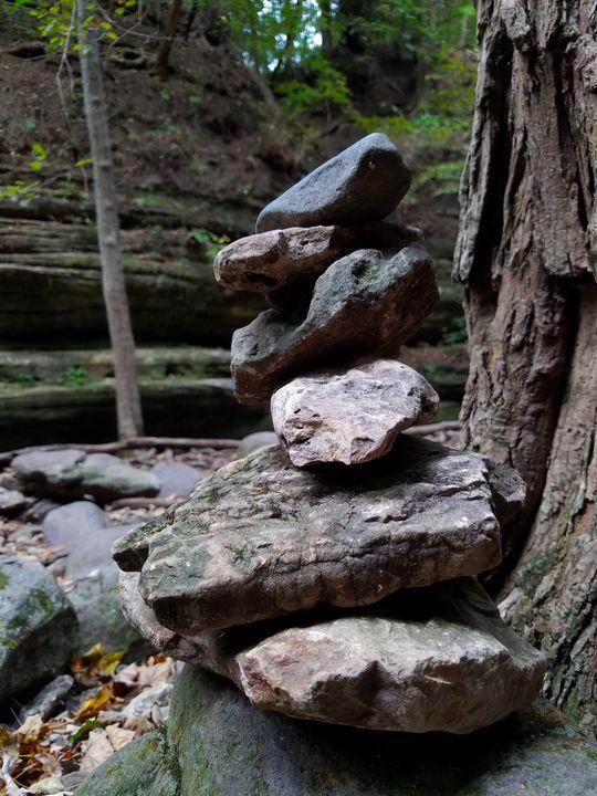 Stacked Rocks - Britni Stark