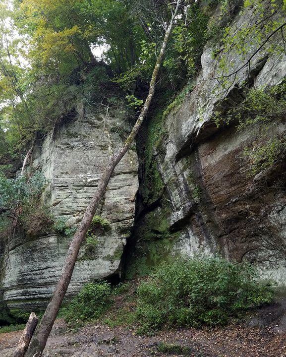 Rock Cliff Side - Britni Stark