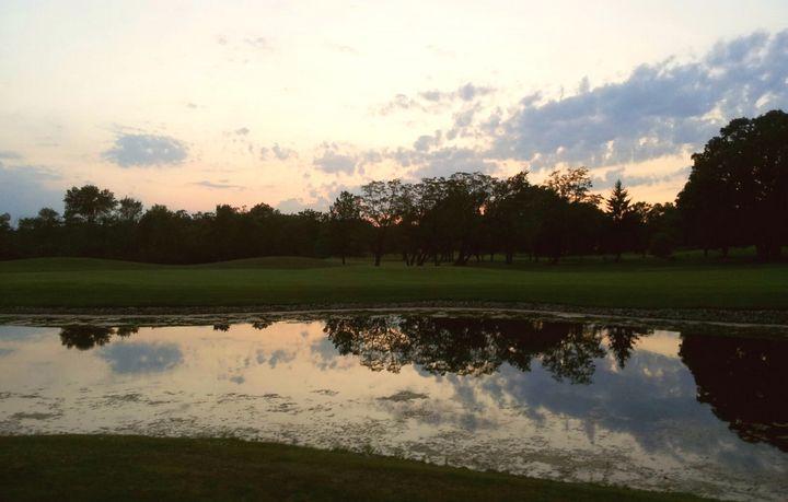Golf Course Pond - Britni Stark