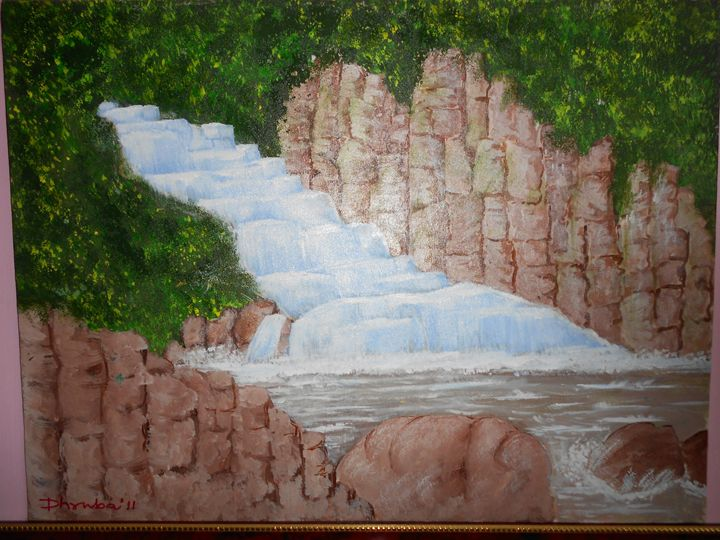 Waterfall - Dhrubajyoti