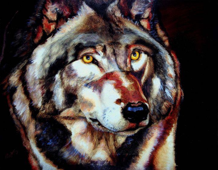 Wolf - Jodi Dougherty Art