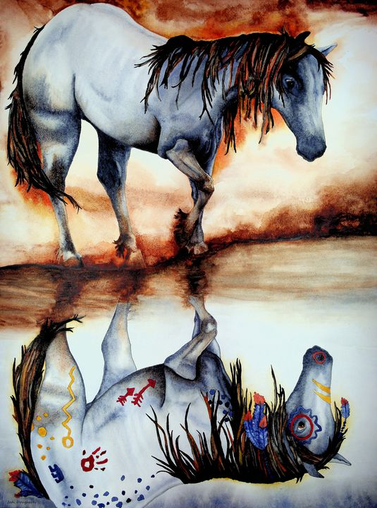 Reflection - Jodi Dougherty Art