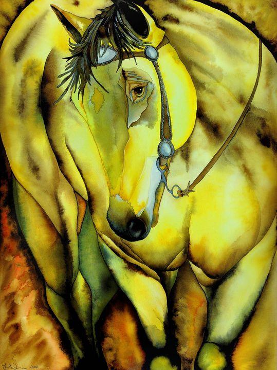 Buckskin - Jodi Dougherty Art