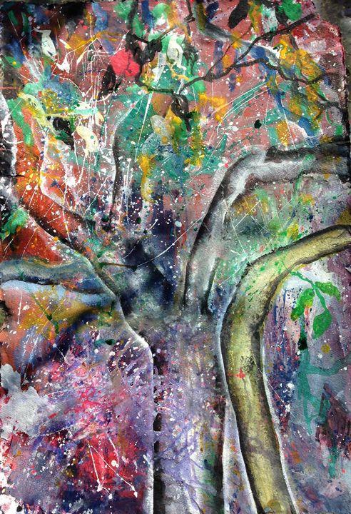 apple tree 2 - Sahaja Kunkunate