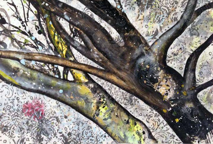 trees (lovers + snow) - Sahaja Kunkunate
