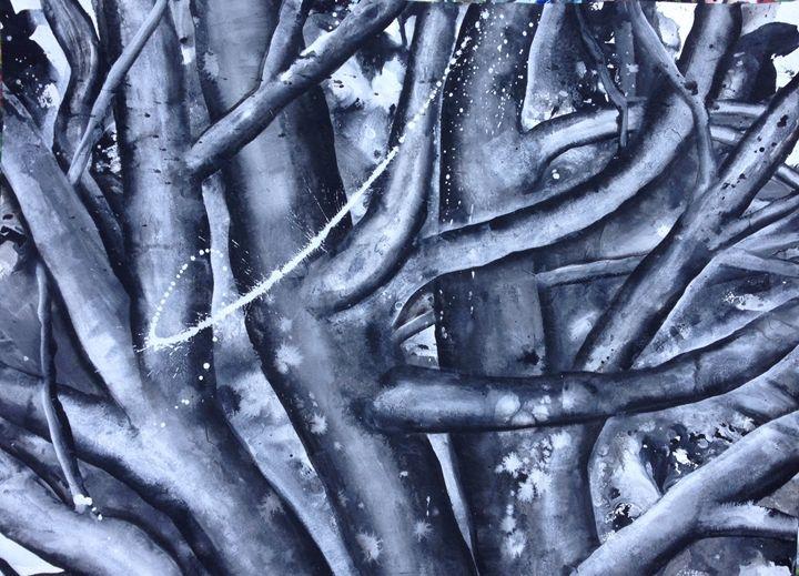 dancing trees - Sahaja Kunkunate