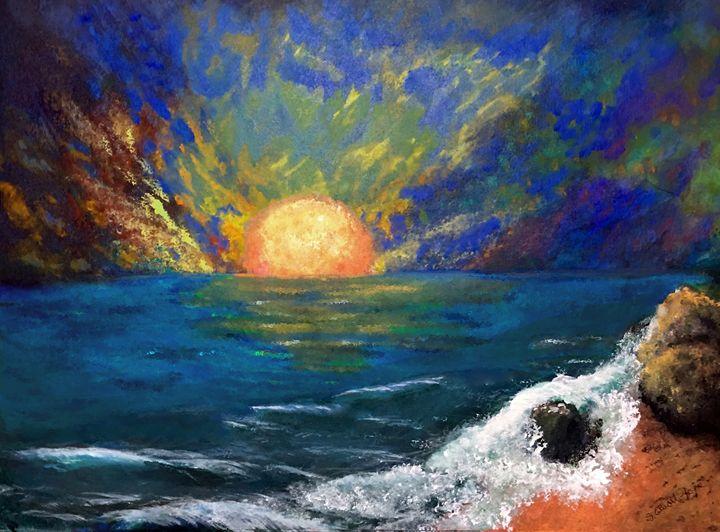 Seascape Fantasy - Sherry Elliott Pope