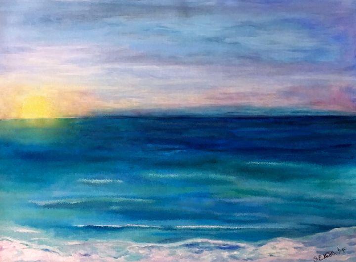 Sunrise at the Beach - Sherry Elliott Pope
