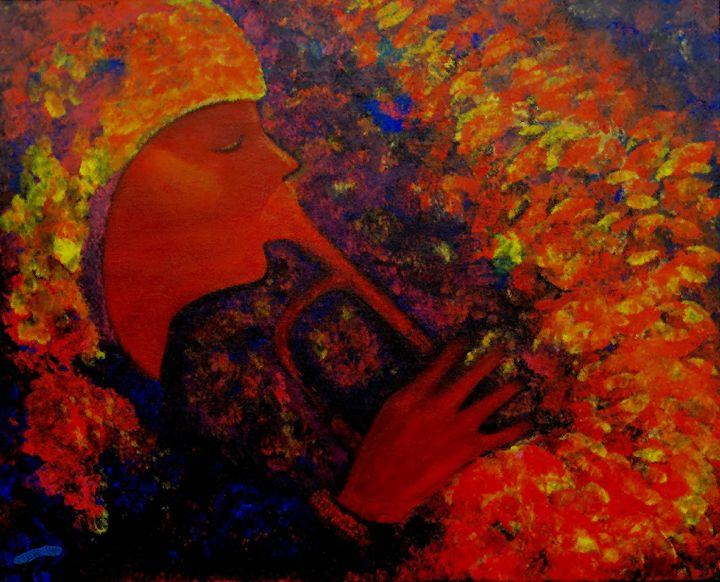 Trumpet Player - Sherry Elliott Pope