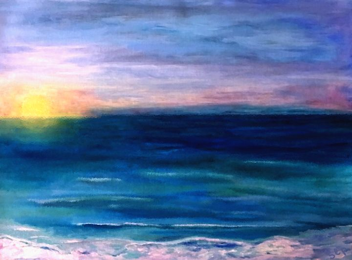 Sunrise at the Beach 3 - Sherry Elliott Pope