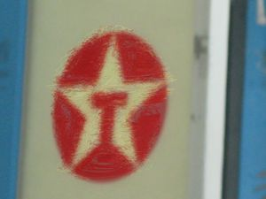 Old Texaco Sign