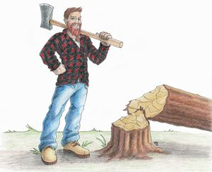 Alex the Lumberjack