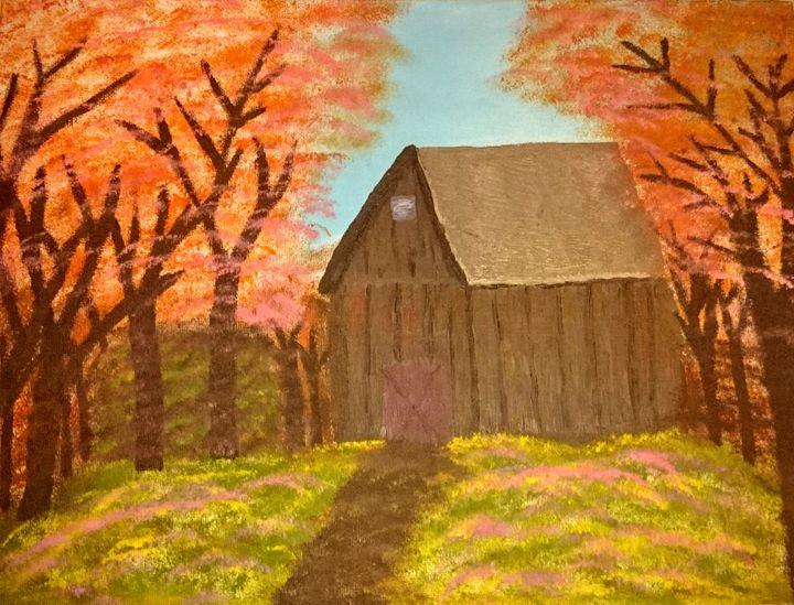 Fall Cabin - Celeste Denson