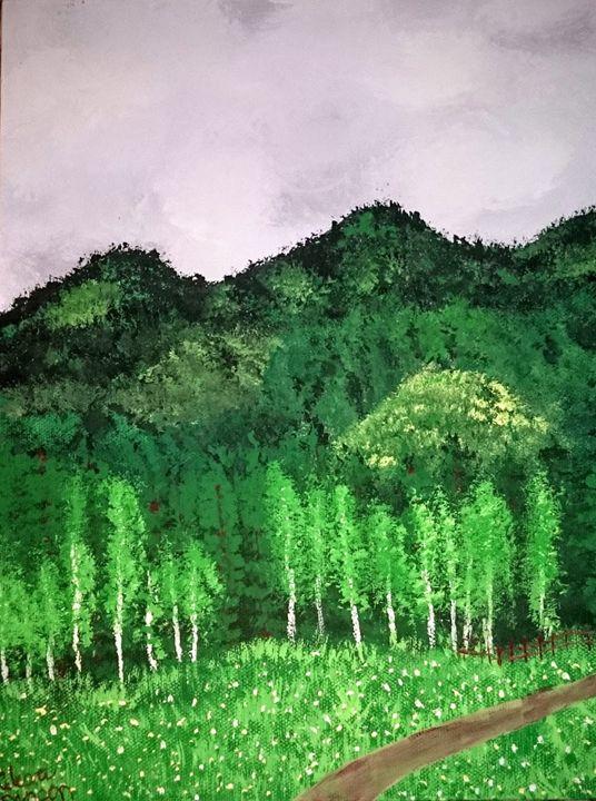 cloud mountain - Celeste Denson