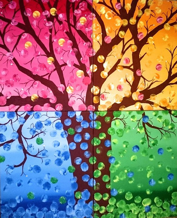 Colorful Tree - Celeste Denson