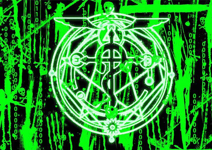 Alchemist in the Matrix - Rad Wizard Designs