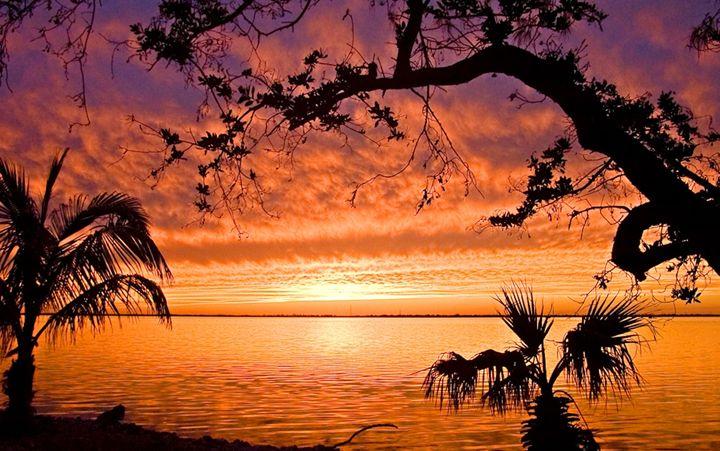 sunset in the Florida Keys - Key West Images