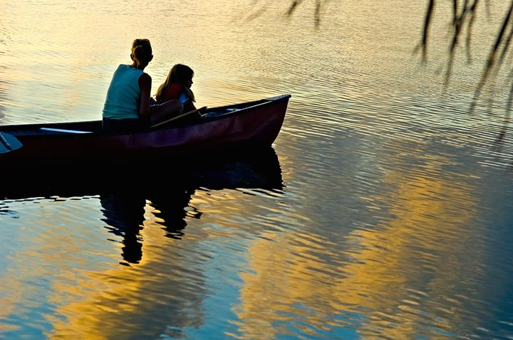 2 in a Canoe - Key West Images