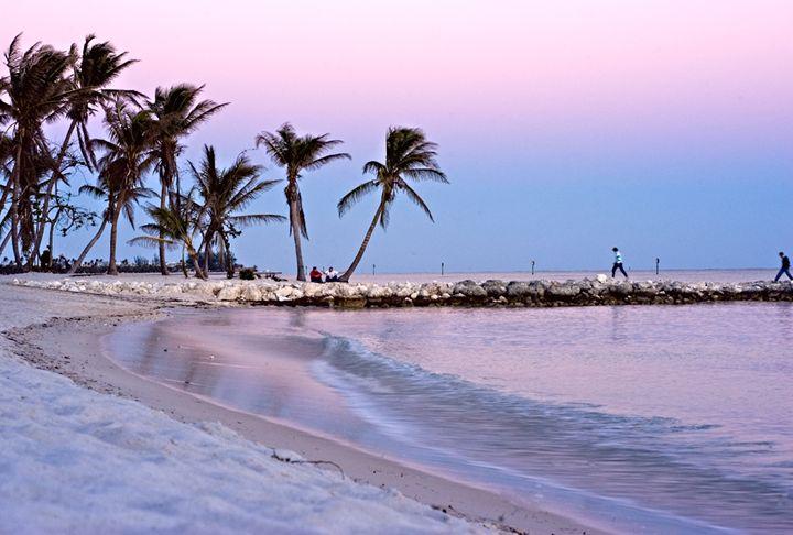 Smather's Beach Sunset, Key West - Key West Images