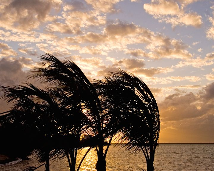 Stormy Sunset - Key West Images