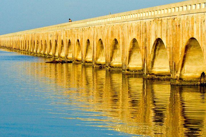 Old Seven-Mile Bridge, Florida Keys - Key West Images