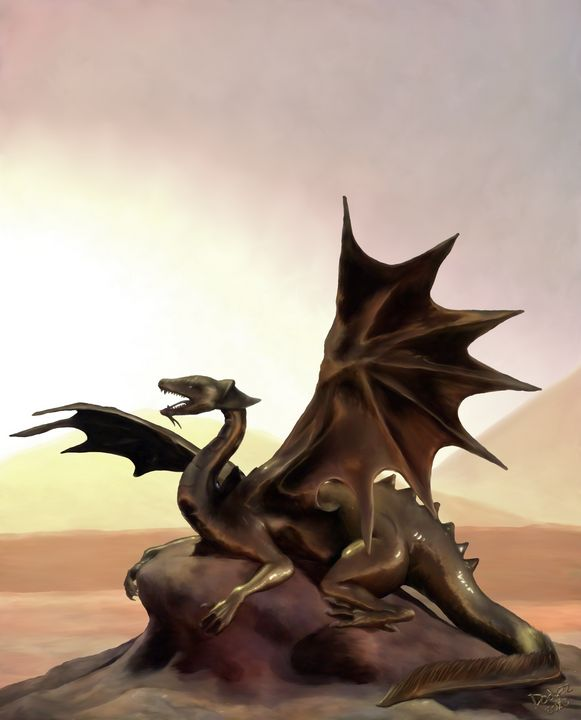 Brass Dragon - Fantastic Art of Dodger