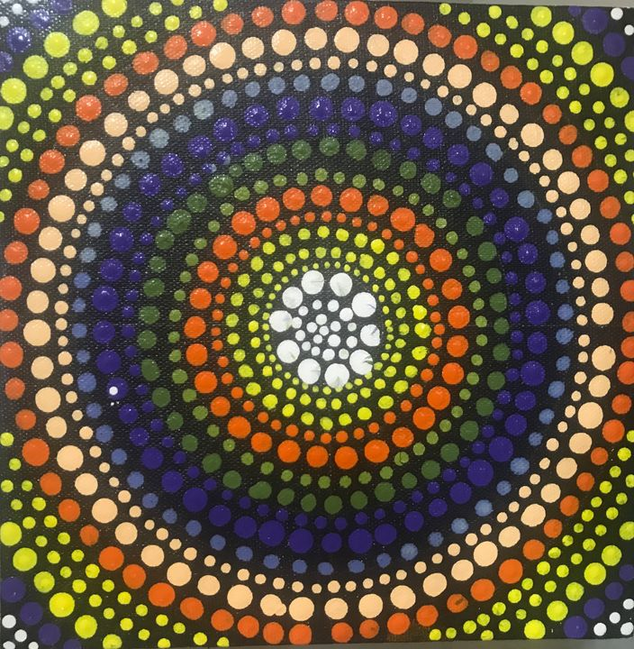 Dot painting - Snehal Shirude